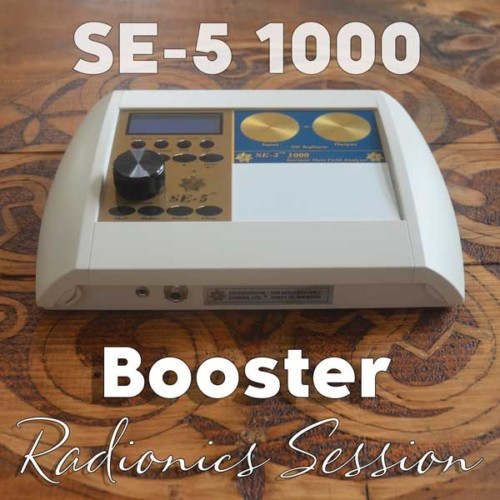 Booster Radionics Session