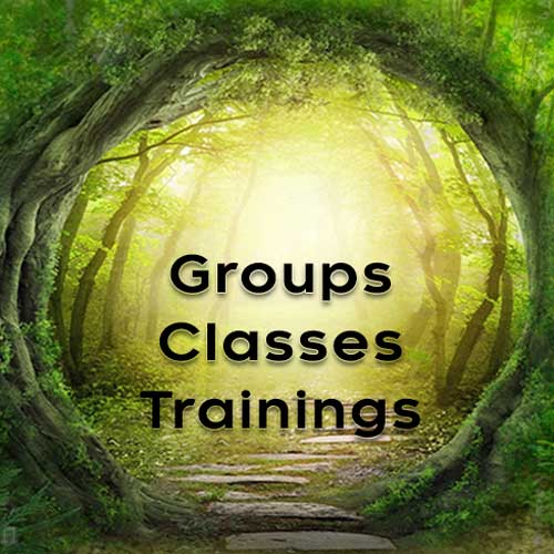 Groups Classes Trainings with Juna Guetter and Sabine Hildebrandt
