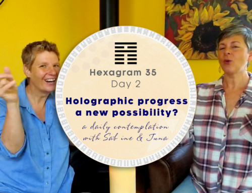 Holographic progress – a new possibility?
